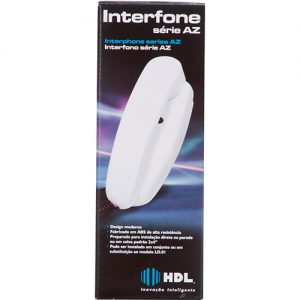 interfone hdl porteiro coletivo ou extensão branco
