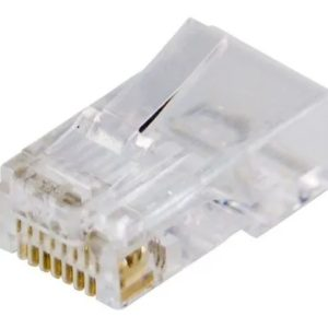 RJ45 Macho Cat5 - Alarme Center