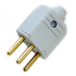 Plug Macho PDL1-3 | Alarme Center em Curitiba